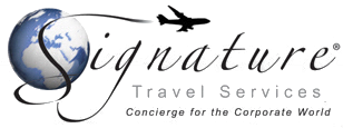 signature corporate travel services logo